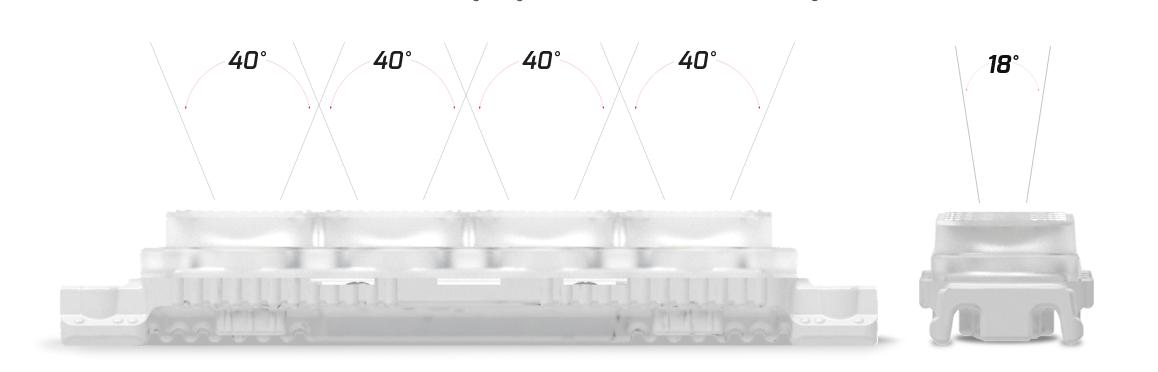 edge module 4WE240-6500 angle of light